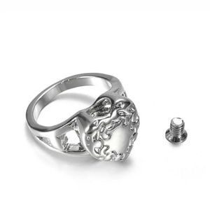 Jewelry - Silver Cremation Keepsake Ring - RE STOCKED